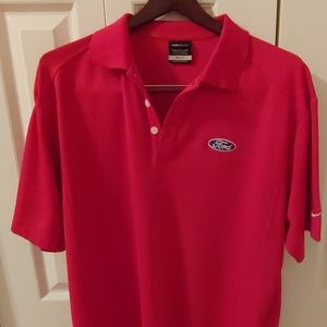 Nike DRI-FIT Golf Mens Polo. Size Large.